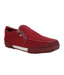 Vostro Men Casual Shoes Aero01 Red VCS0417